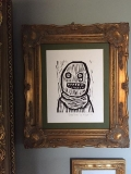 Crude Terror framed at Stuart's