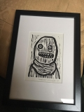 Crude Terror framed at Yvonne's